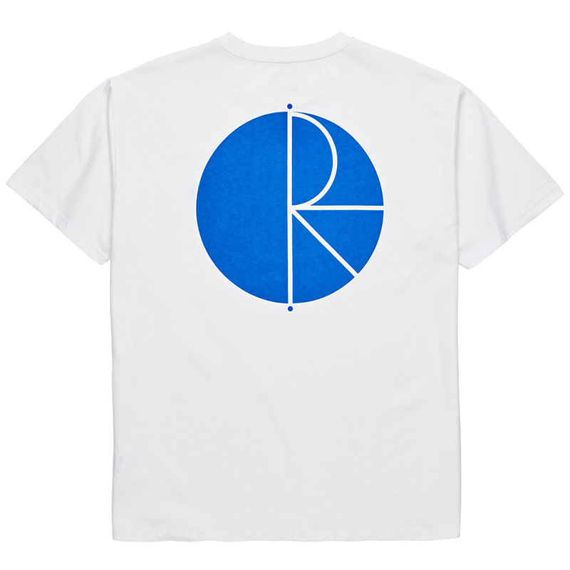 Polar Fill Logo T-Shirt White/Blue
