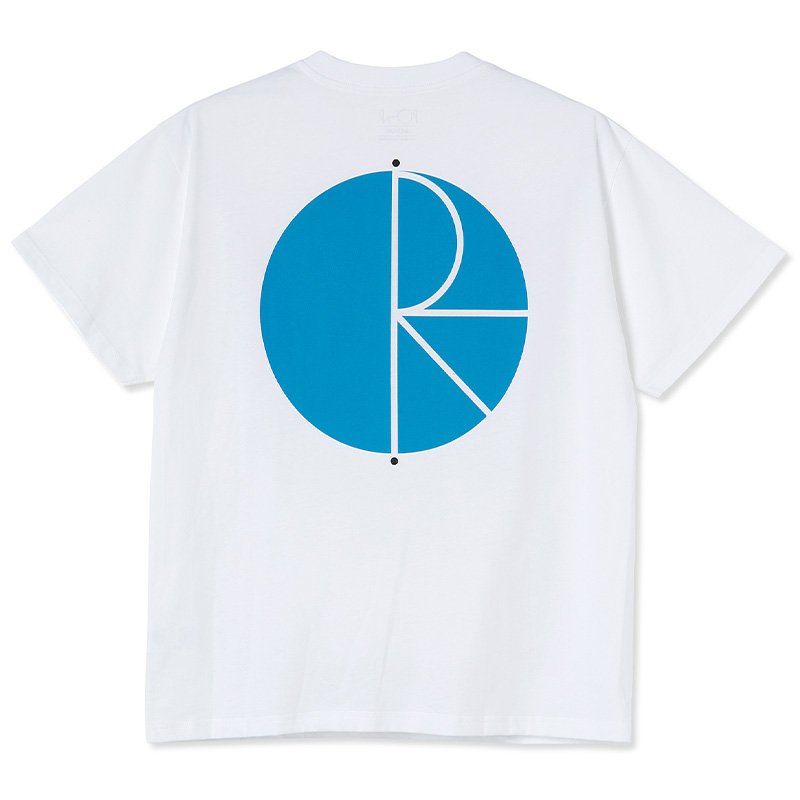 Polar Fill Logo T-Shirt White/Light Blue