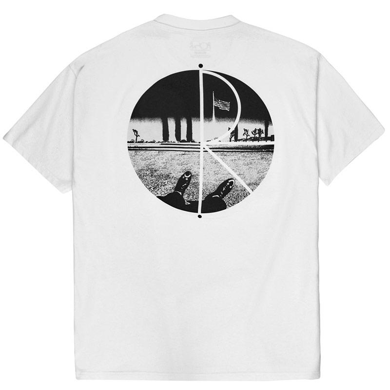 Polar Happy Sad Fill Logo T-Shirt White