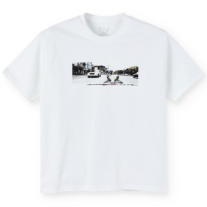 Polar Houston St T-Shirt White