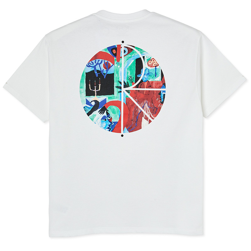 Polar Moth House Fill Logo T-Shirt White