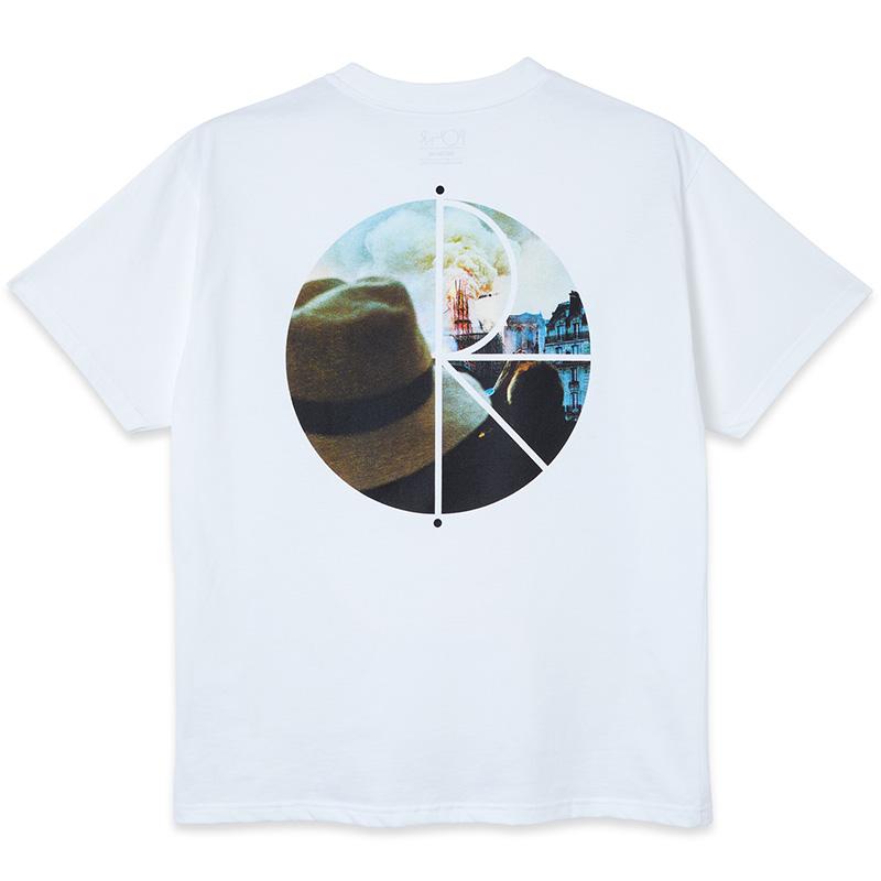 Polar Notre Dame Fill Logo T-Shirt White