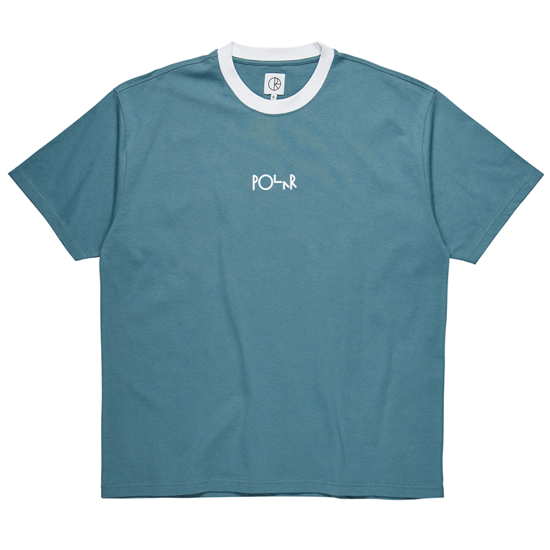 Polar Offside T-Shirt Grey Blue/White