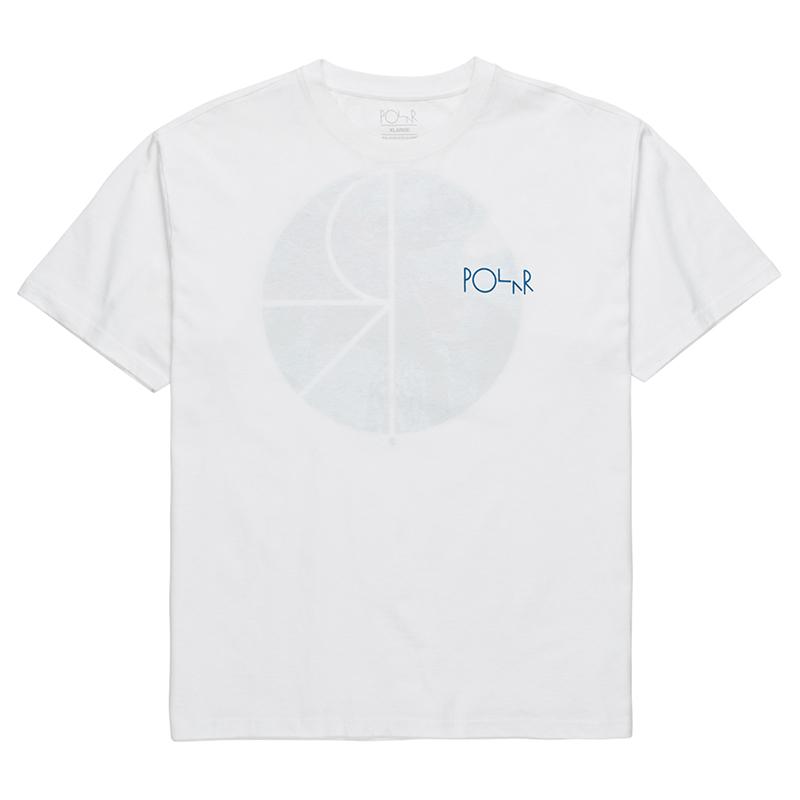 Polar Orchid Fill Logo T-Shirt White