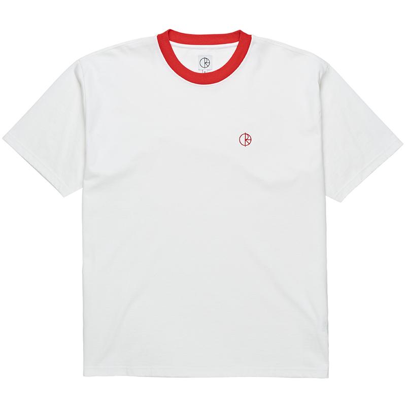 Polar Ringer T-Shirt White/Red