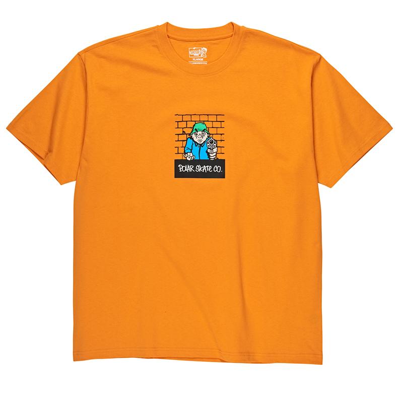 Polar Robbery T-Shirt Bright Orange
