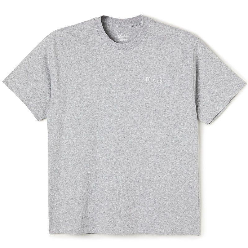 Polar Script T-Shirt Sport Grey