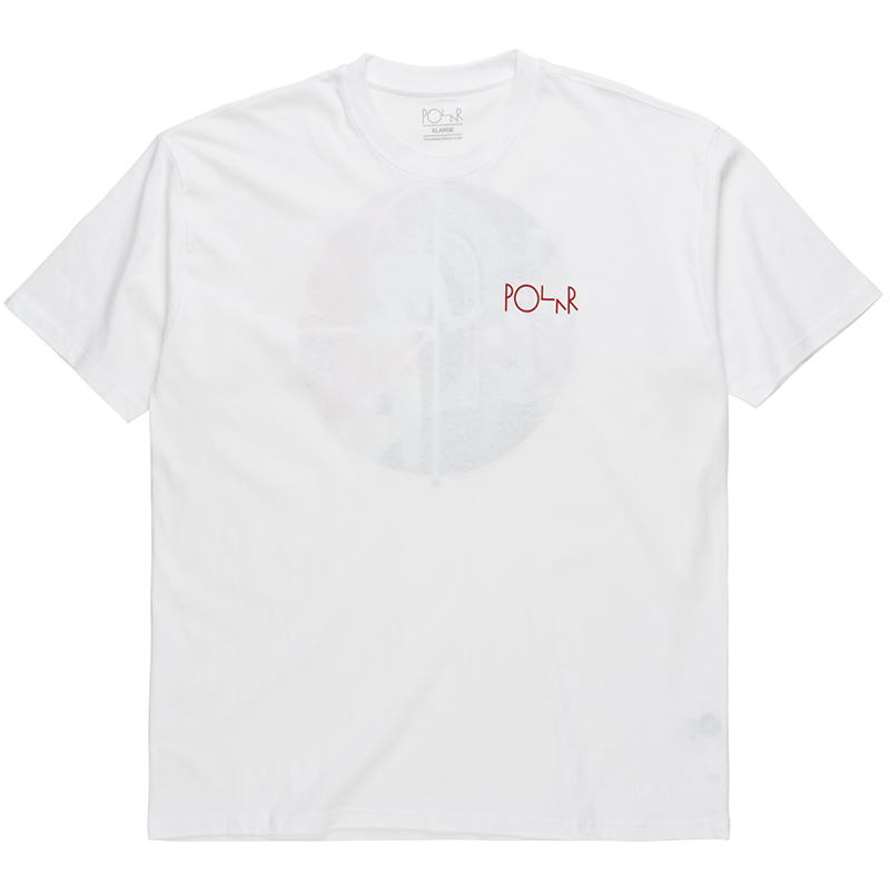 Polar Secrets Fill Logo T-Shirt White