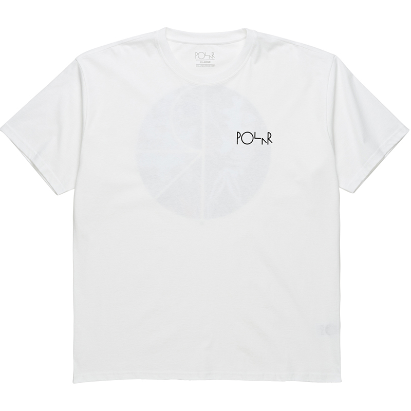 Polar Skeleton Fill Logo T-Shirt White