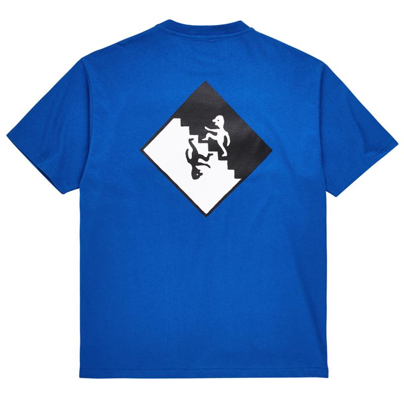 Polar Staircase T-Shirt Egyptian Blue