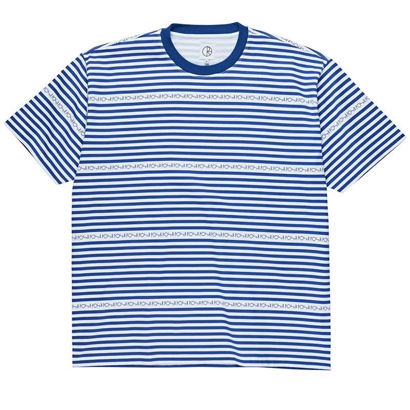 Polar Stripe Logo T-Shirt Dark Blue
