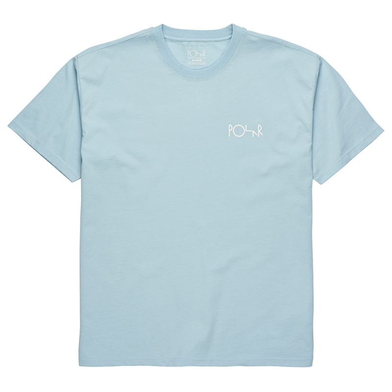 Polar Stroke Logo T-Shirt Light Blue
