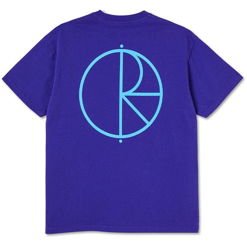 Polar Stroke Logo T-shirt Purple