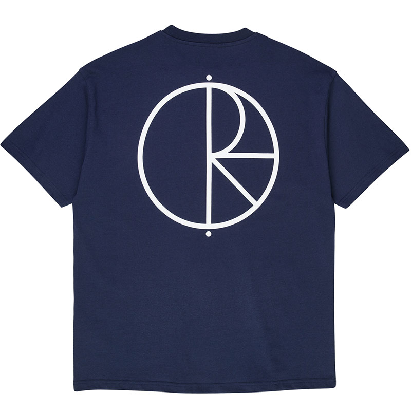 Polar Stroke Logo T-Shirt Rich Navy