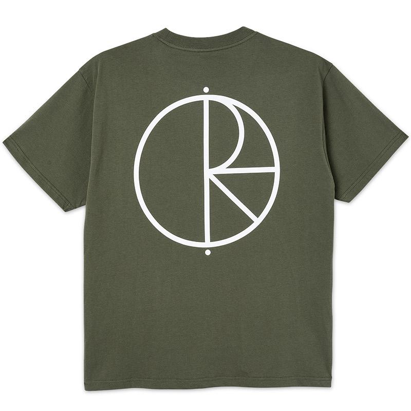 Polar Stroke Logo T-Shirt Uniform Green