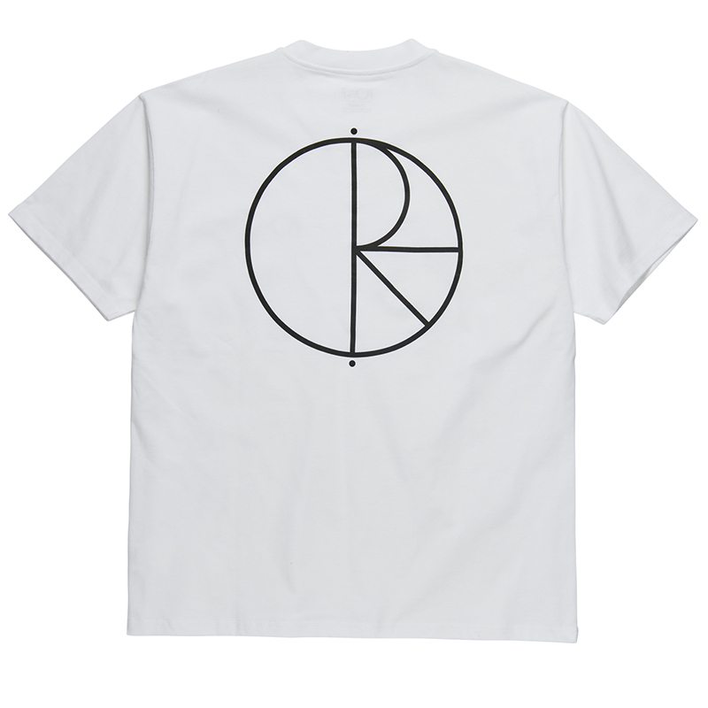 Polar Stroke Logo T-Shirt White/Black