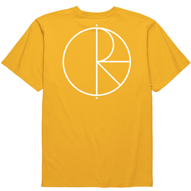 Polar Stroke Logo T-Shirt Yellow