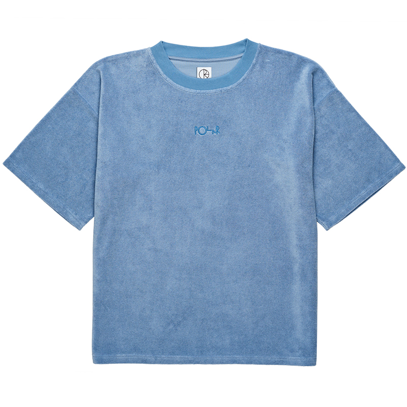 Polar Terry Surf T-Shirt Dusty Indigo