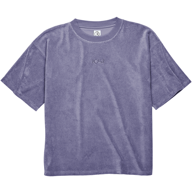 Polar Terry Surf T-Shirt Plum
