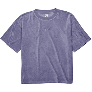 Polar Terry Surf T-Shirt Plum