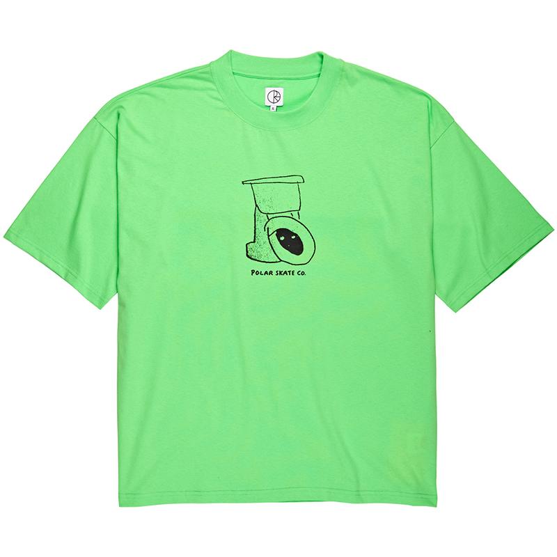 Polar Toilet Surf T-Shirt Gecko Green