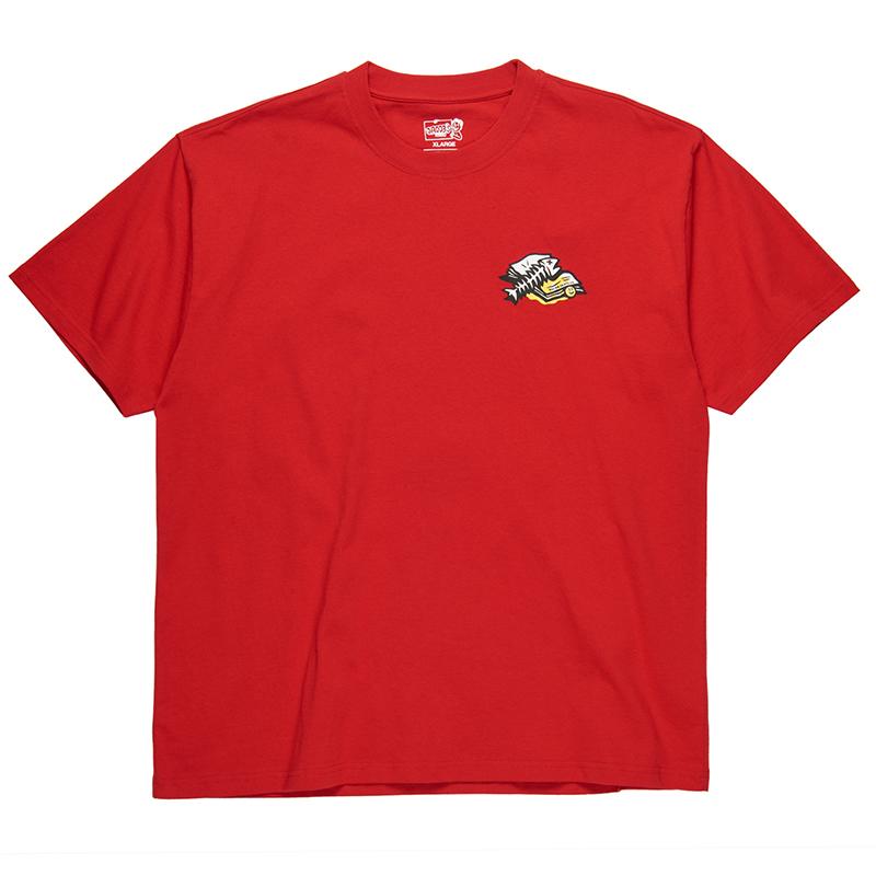 Polar Trashcan T-Shirt Red
