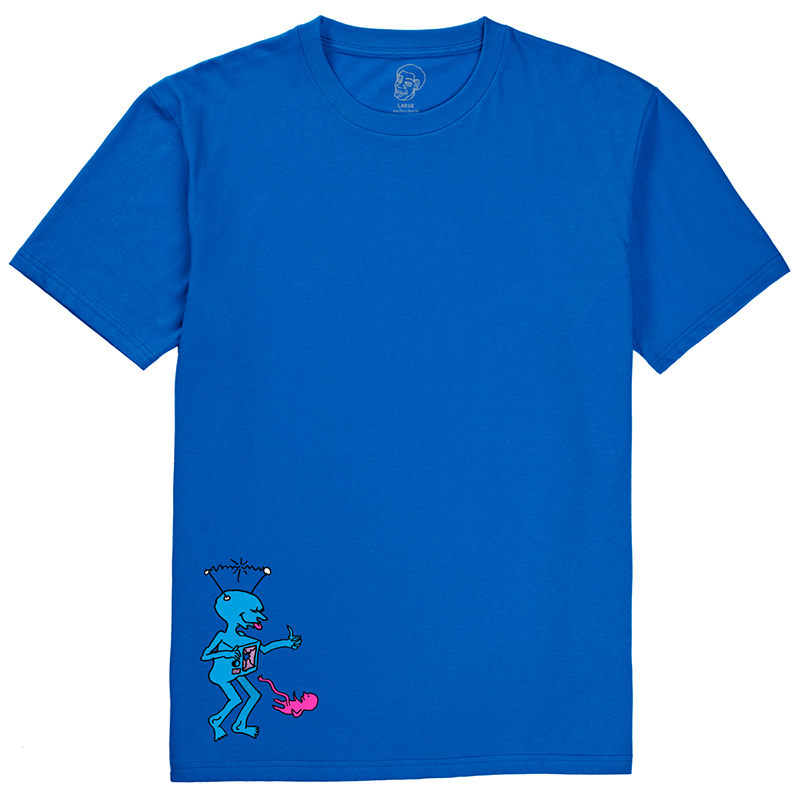 Polar TV Kid T-Shirt Royal Blue