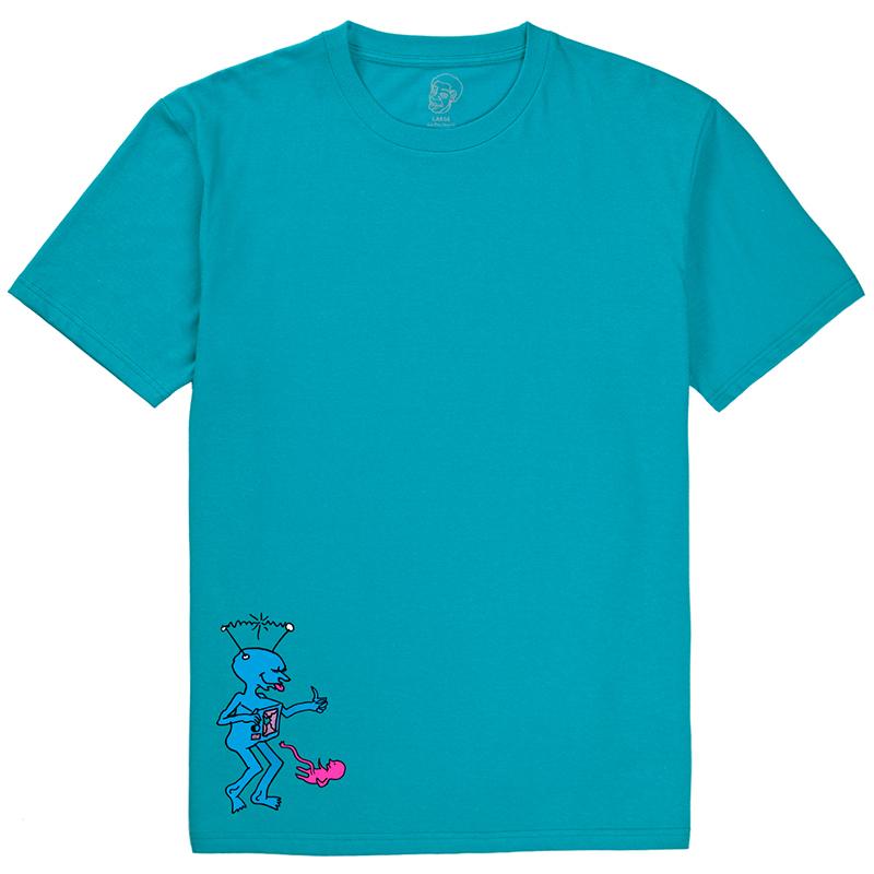 Polar TV Kid T-Shirt Turquoise