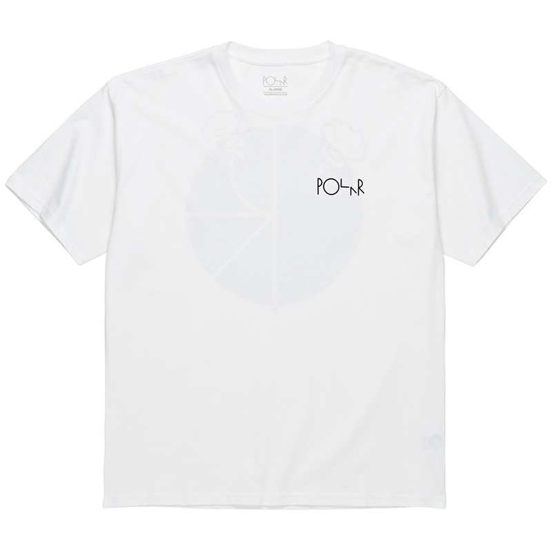 Polar Word Fill Logo T-Shirt White