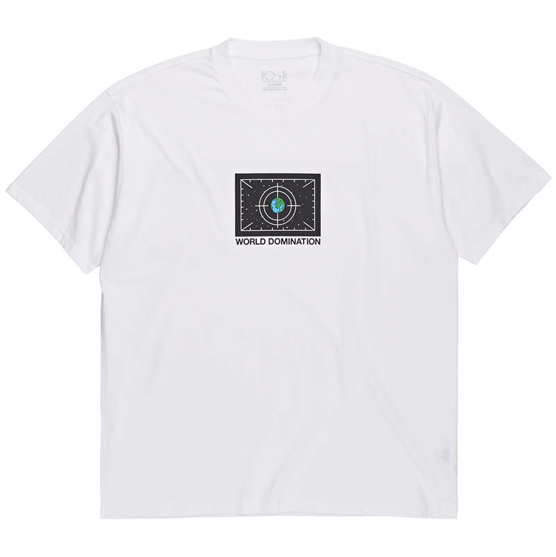 Polar World Domination T-Shirt White