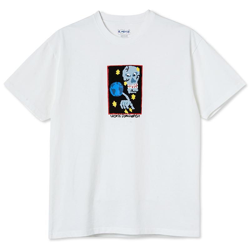 Polar World Domination T-shirt White