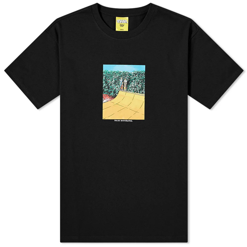 Polar x Iggy Boys On A Ramp T-Shirt Black