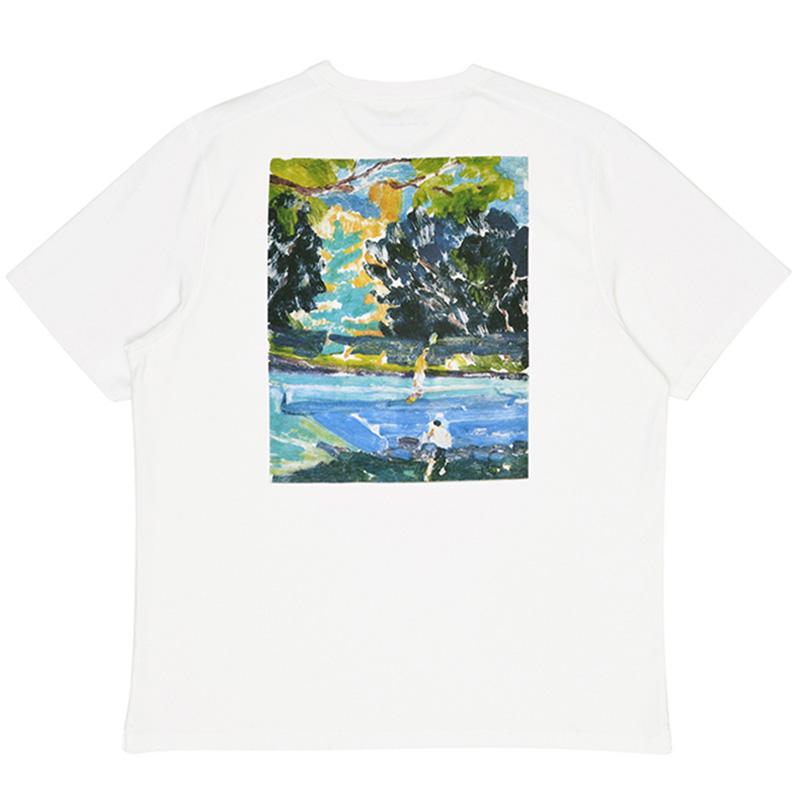 Pop Trading Company Lotti T-Shirt White
