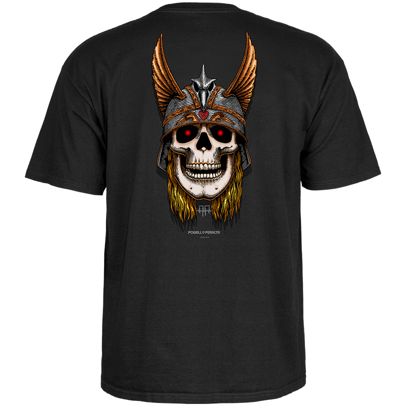 Powell-Peralta Andy Anderson Skull T-Shirt Black