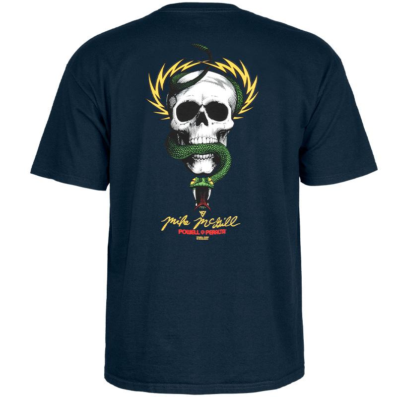 Powell-Peralta McGill Skull & Snake T-Shirt Navy