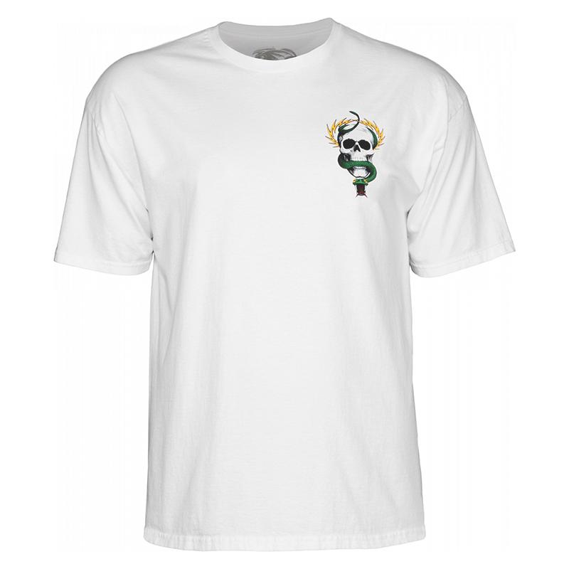 Powell-Peralta McGill Skull & Snake T-Shirt White