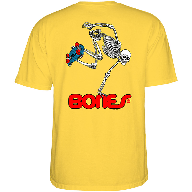Powell-Peralta Skateboard Skeleton T-Shirt Banana