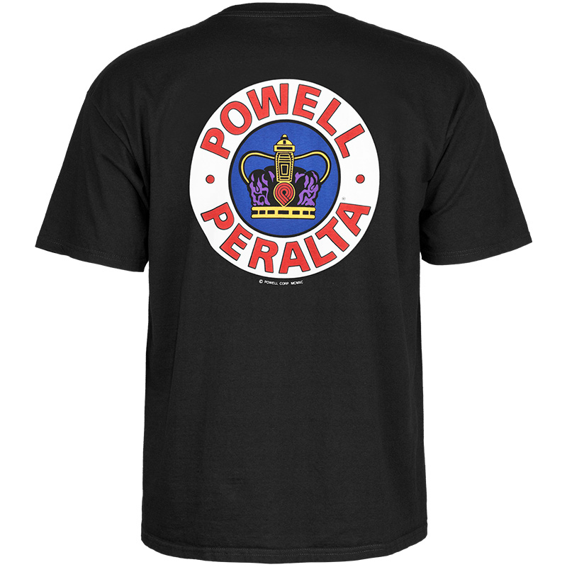 Powell-Peralta Supreme T-Shirt Black