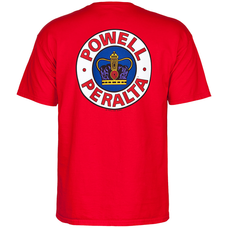 Powell-Peralta Supreme T-Shirt Red