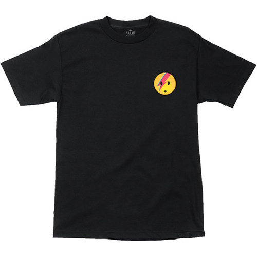Prime Lance Mountain Bowie T-Shirt Black