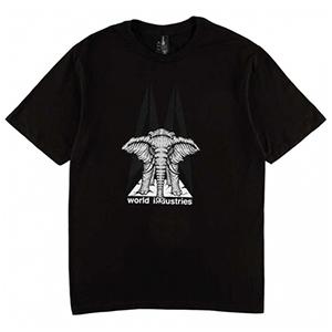 Prime World Industries Mike Vallely Elephant On Edge T-Shirt Black