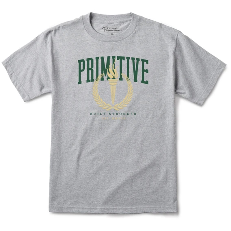Primitive Athens T-Shirt Athletic Heather