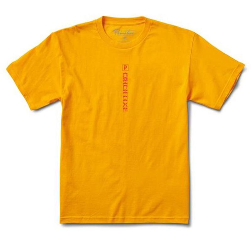 Primitive Check Out T-Shirt Gold