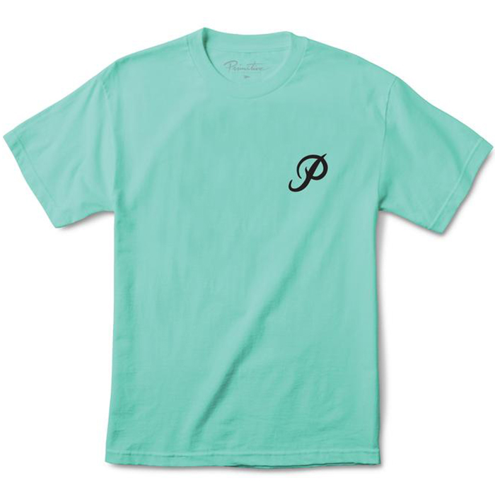 Primitive Classic P Core T-Shirt Sea Foam
