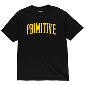 Primitive Collegiate Arch T-Shirt Black