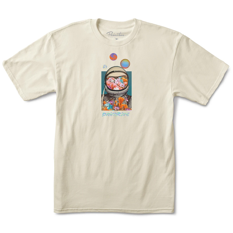 Primitive Contact T-Shirt Cream