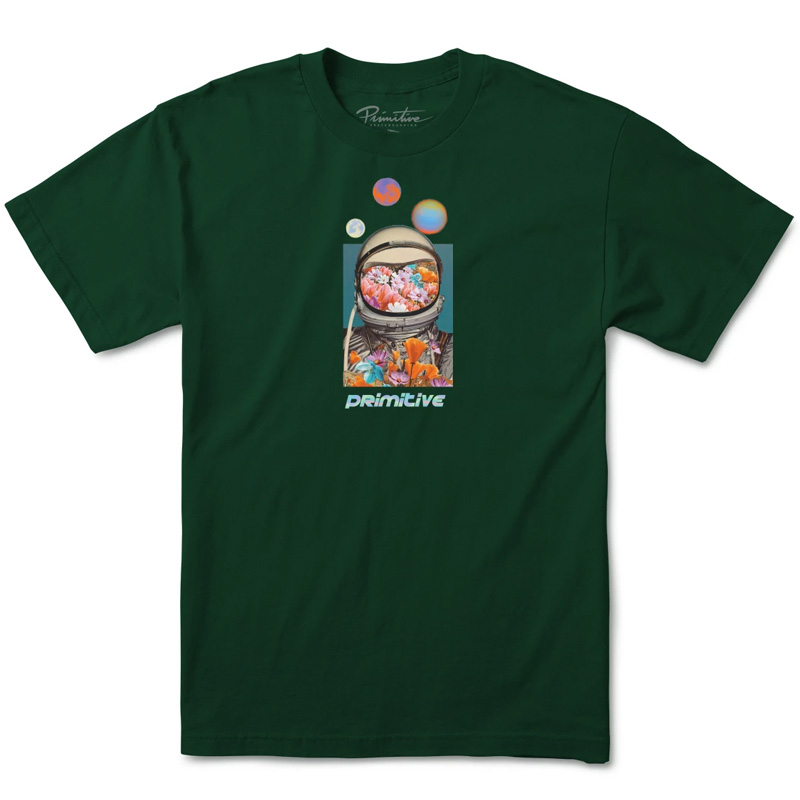 Primitive Contact T-Shirt Forest Green