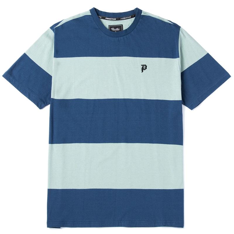 Primitive Cycle Knit T-Shirt Harbor Blue
