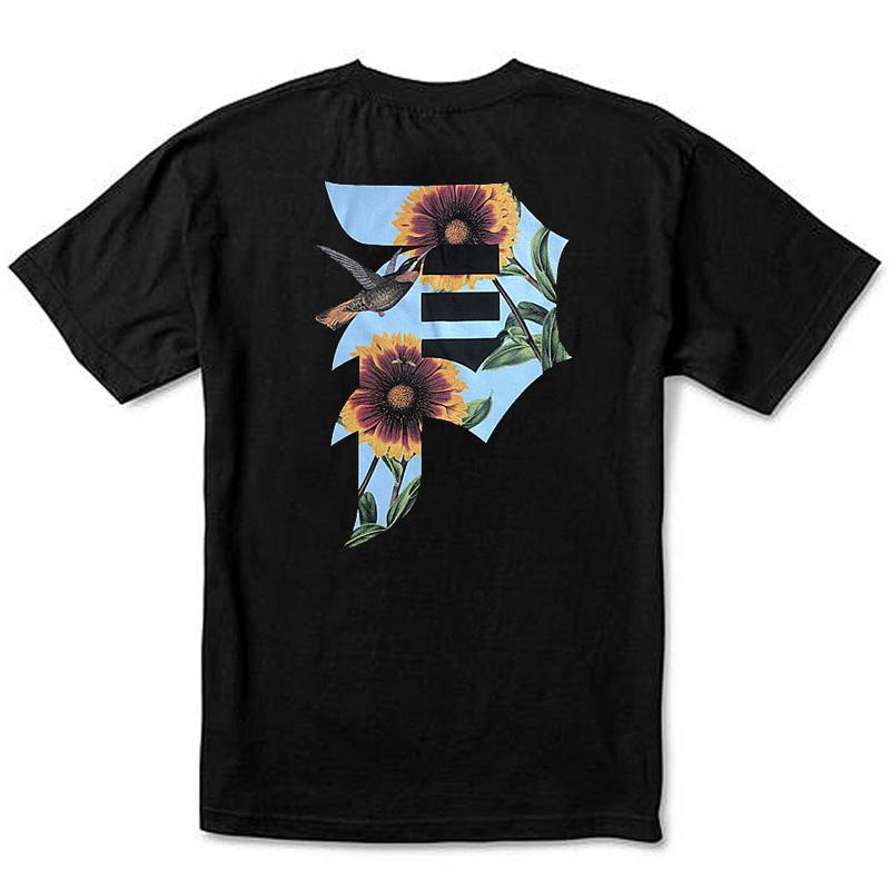 Primitive Dirty P Sunflower T-Shirt Black
