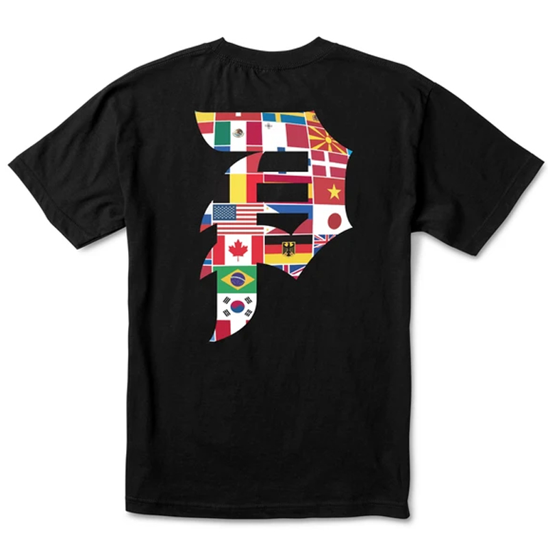 Primitive Dirty P Union T-Shirt Black